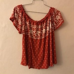 Jolt Embroidered Top